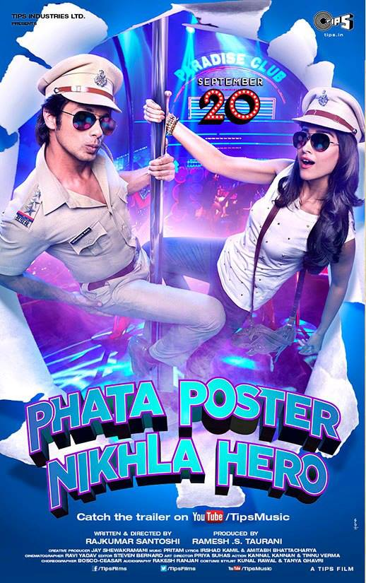 ppnhposter Check out Shahid in Phata Poster Nikla Hero Trailer!