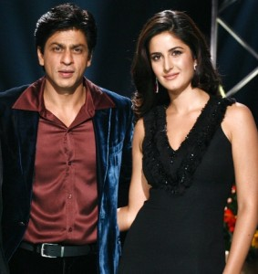 srk and katrina kaif 283x300 Katrina Kaif will work again with Shah Rukh Khan in Happy New Year?