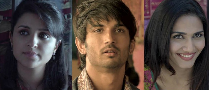 sushant2heroinessdr Sushant Singh Rajput Hero and his Two Heroines in Shuddh Desi Romance!