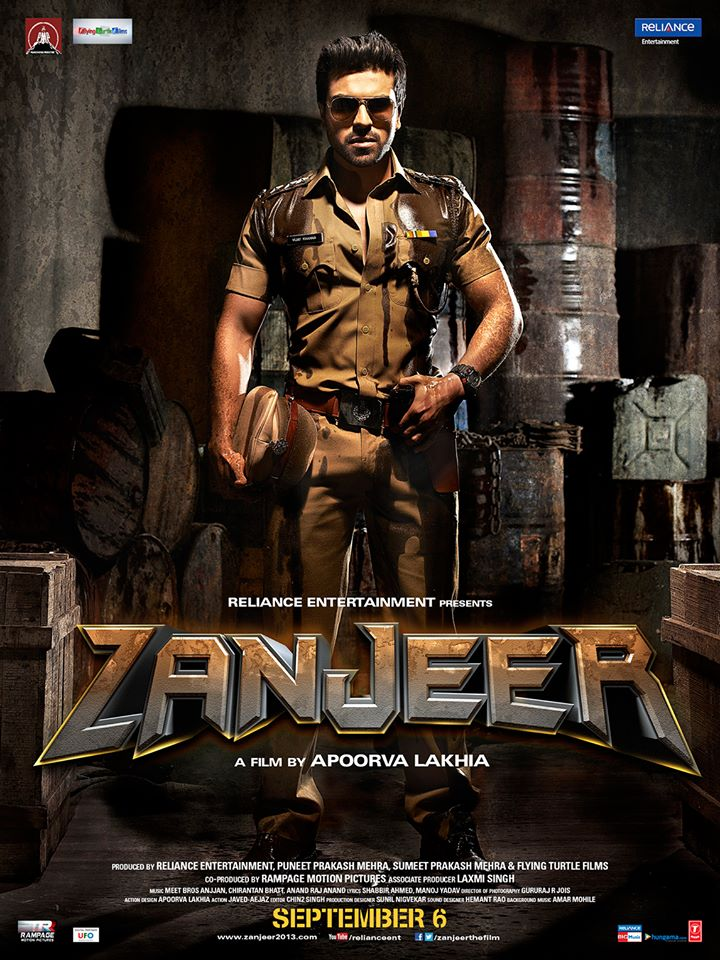 zanjeer First Look: Priyanka Chopra and Ram Charan in Zanjeer!