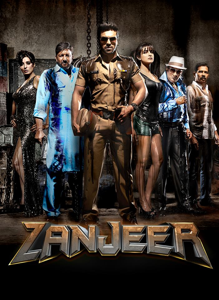 zanjeer2 First Look: Priyanka Chopra and Ram Charan in Zanjeer!