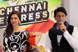 13aug CEintrvw Deepika SRK08 300x200 Riding the Chennai Express with Shah Rukh Khan and Deepika Padukone in London!