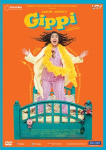 Gippi - DVD Inlay
