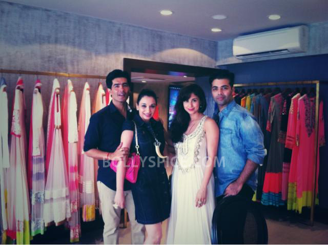 13aug ManishMalhotra01 Manish Malhotra launches his diffusion store in Mumbai