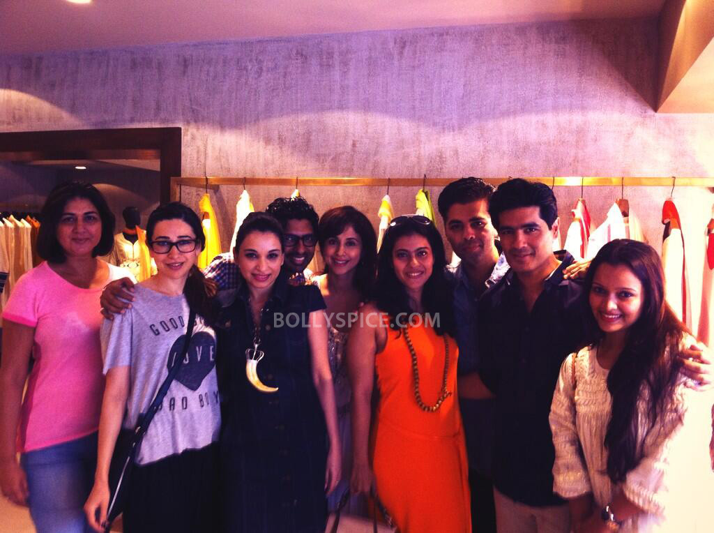 13aug ManishMalhotra05 Manish Malhotra launches his diffusion store in Mumbai