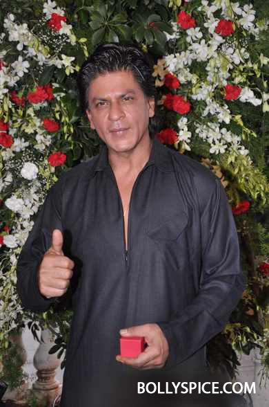 13aug SRK Eid05 I can't stop smiling, so I don't know. Until I stop smiling, till then I think the excitement hasn't settled down   Shah Rukh Khan