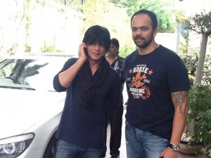 13aug SRK Rohit ChennaiExpress sequel 300x225 SRK  Rohit Shetty plan to team up again