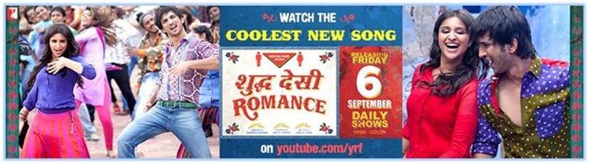 13aug ShuddhDesiRomance TitleSong Raghu & Gayatri dance to the coolest Shuddh Desi song