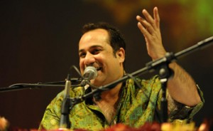 13aug UstadRahatFateh SellOutEvent 300x184 Ustad Rahat Fateh Ali Khan at Sell Out Event to Mark 100 Years of Bollywood at The O2 Arena UK