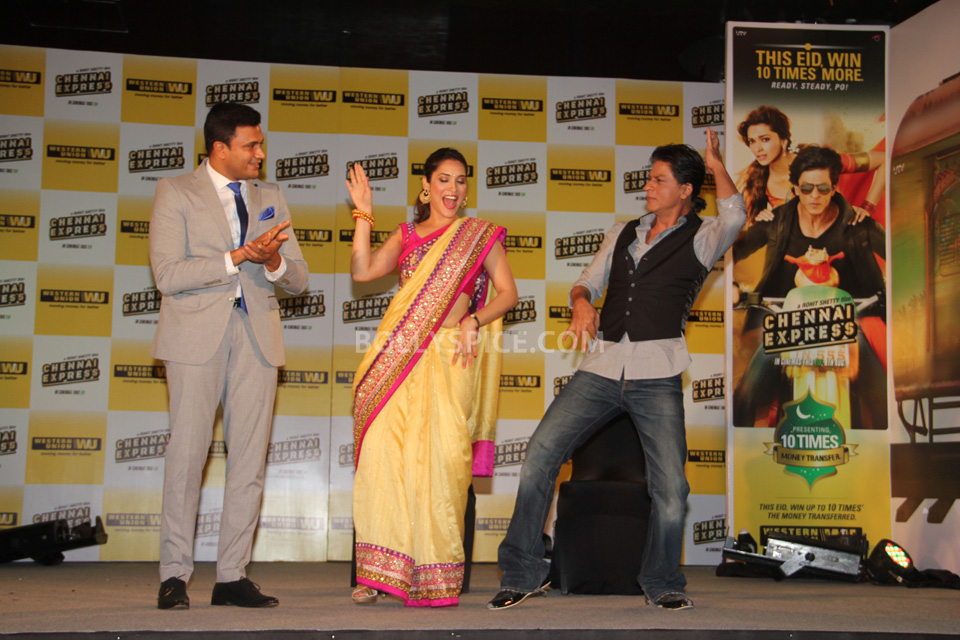 13aug WesternUnion ChennaiExpress10 Western Union on board the Chennai Express