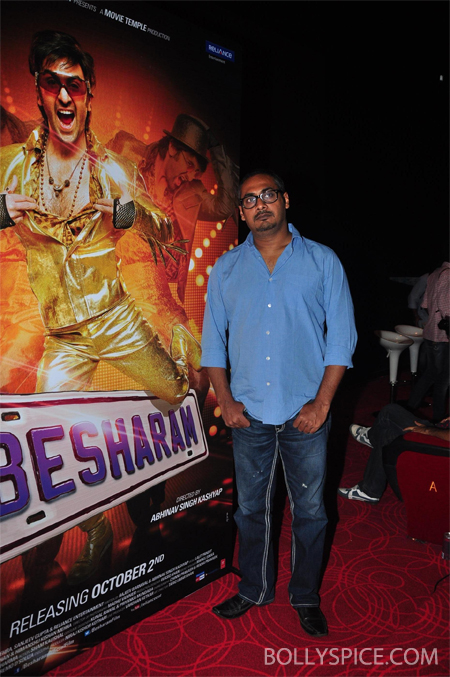 13aug abhinav 02 Besharam First Look Launch