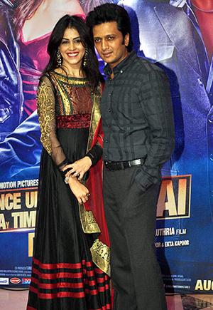 13aug ektaiftaar genelia Whos Hot Whos Not: Ekta Kapoor's Iftar Bash