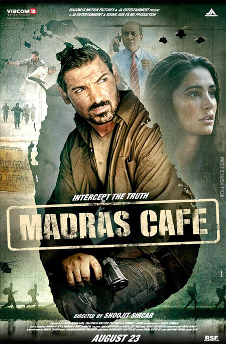 13aug madrascafe 01 Viacom18 Motion Pictures and JA Entertainment Present a Gritty Tale of Conflict and Betrayal in Indian Civil War Drama Madras Café