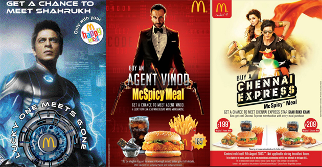 13aug mcdonalds Bottomline Media Marketing Movies with McDonald's