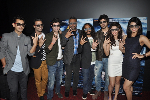 13aug warninglaunch The First Hindi 3D Underwater film   Warning