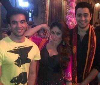 BSNKR5uCEAEL7QY In Pictures: Imran, Kareena and Punits Fun Item Song  Gori Tere Pyaar Mein