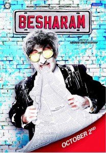 Besharam 208x300 Box Office   Besharam to open well