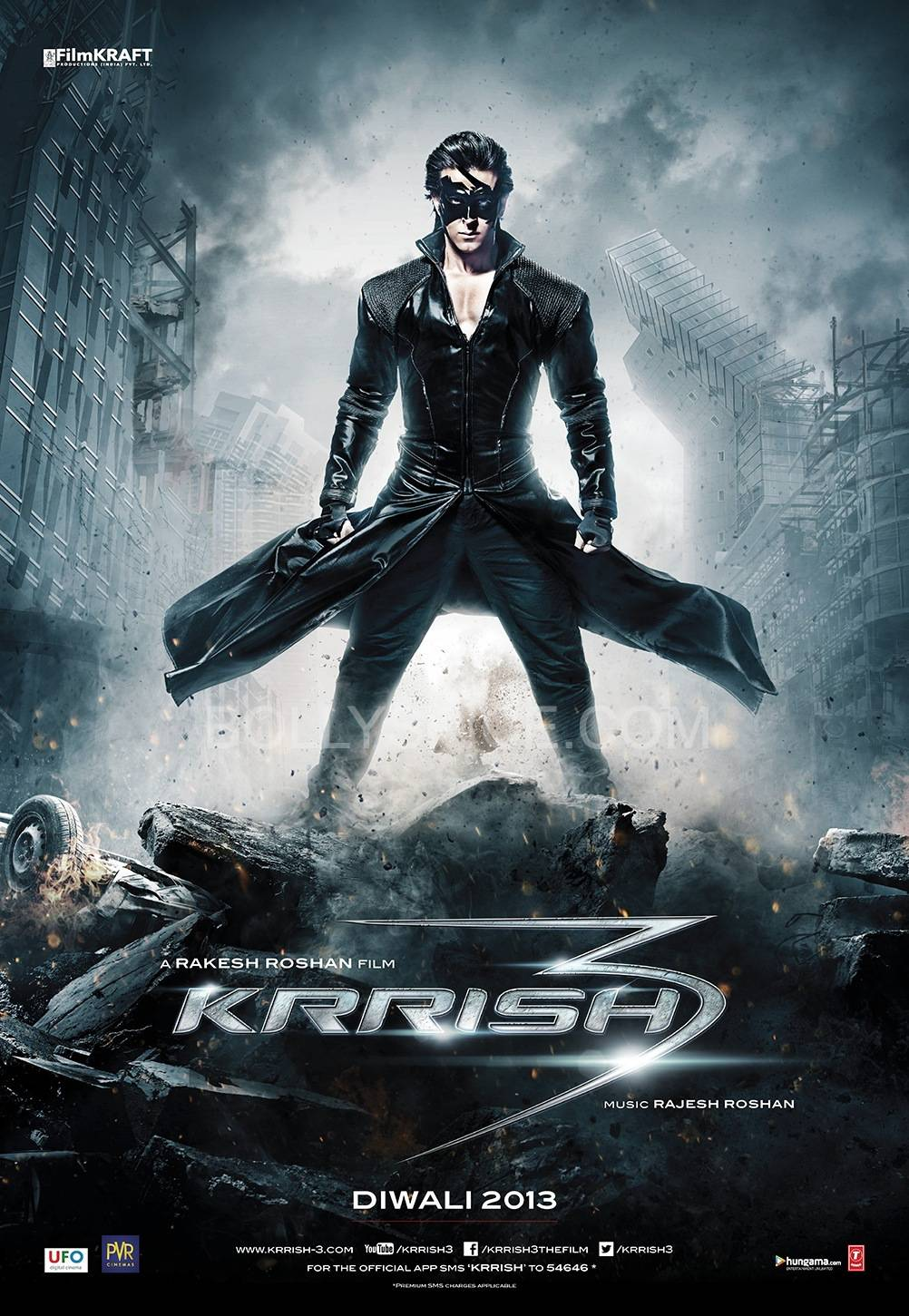 Krrish3 Poster 1 Blog Review: Krrish 3