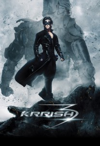 Krrish3 Poster 2 clean 207x300 Krrish 3 Trailer goes viral with over 6 Million YouTube Views in 4 Days