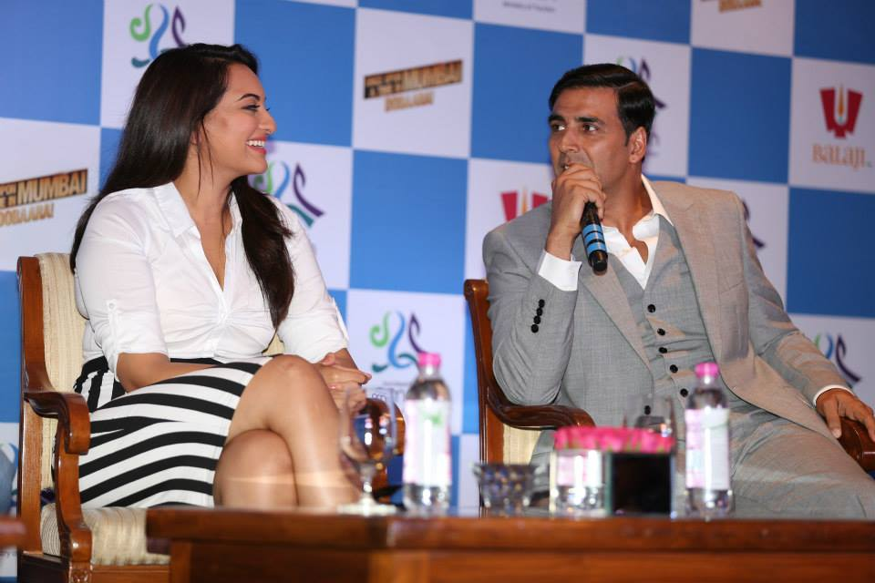 OmanOUATIMD03 In Pictures: Akshay, Imran & Sonakshi at the Once Upon A Time in Mumbai Dobaara Oman Tourism Press Conference