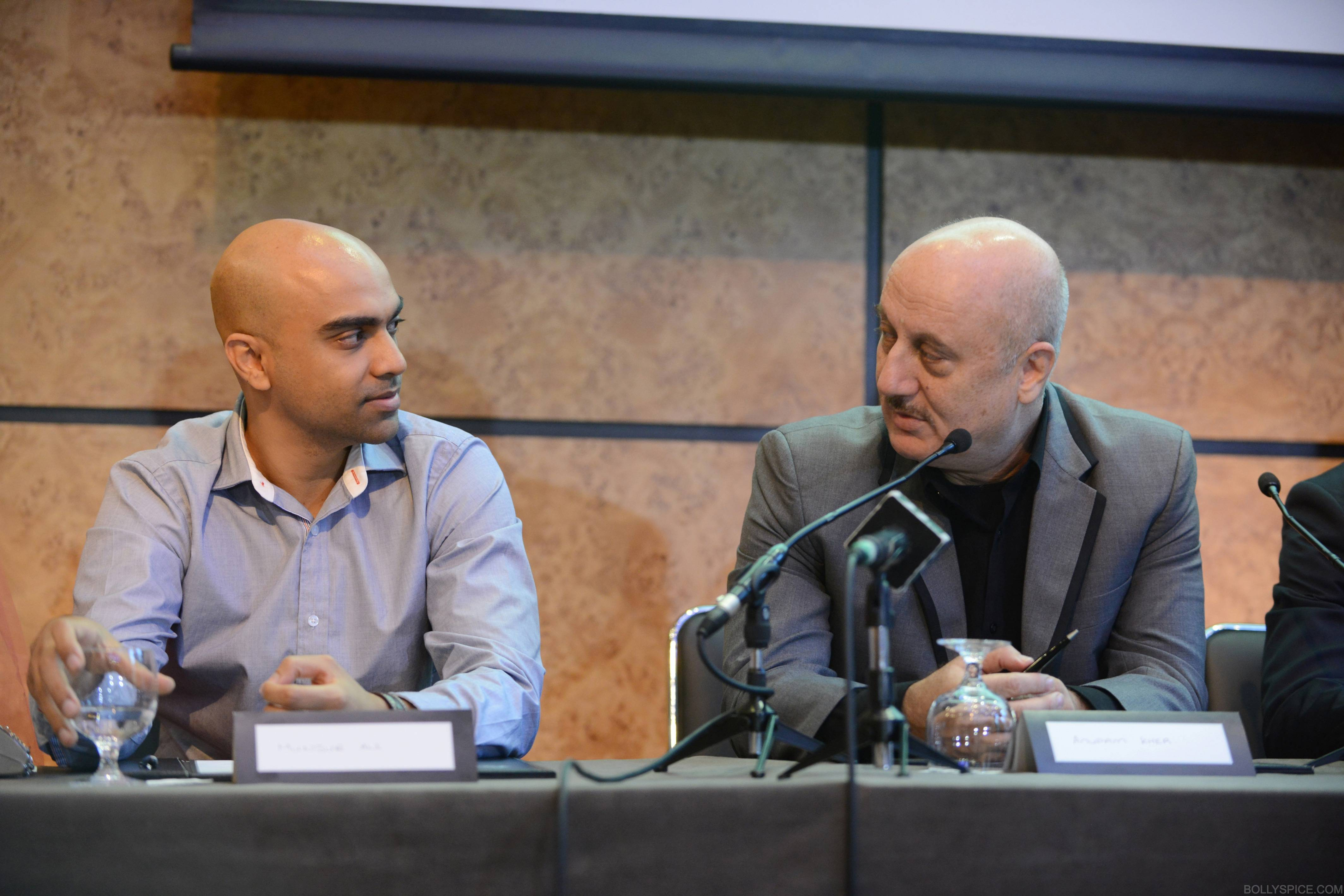 ShongramPC06 SAI Anupam Kher attends London press conference for Shongram