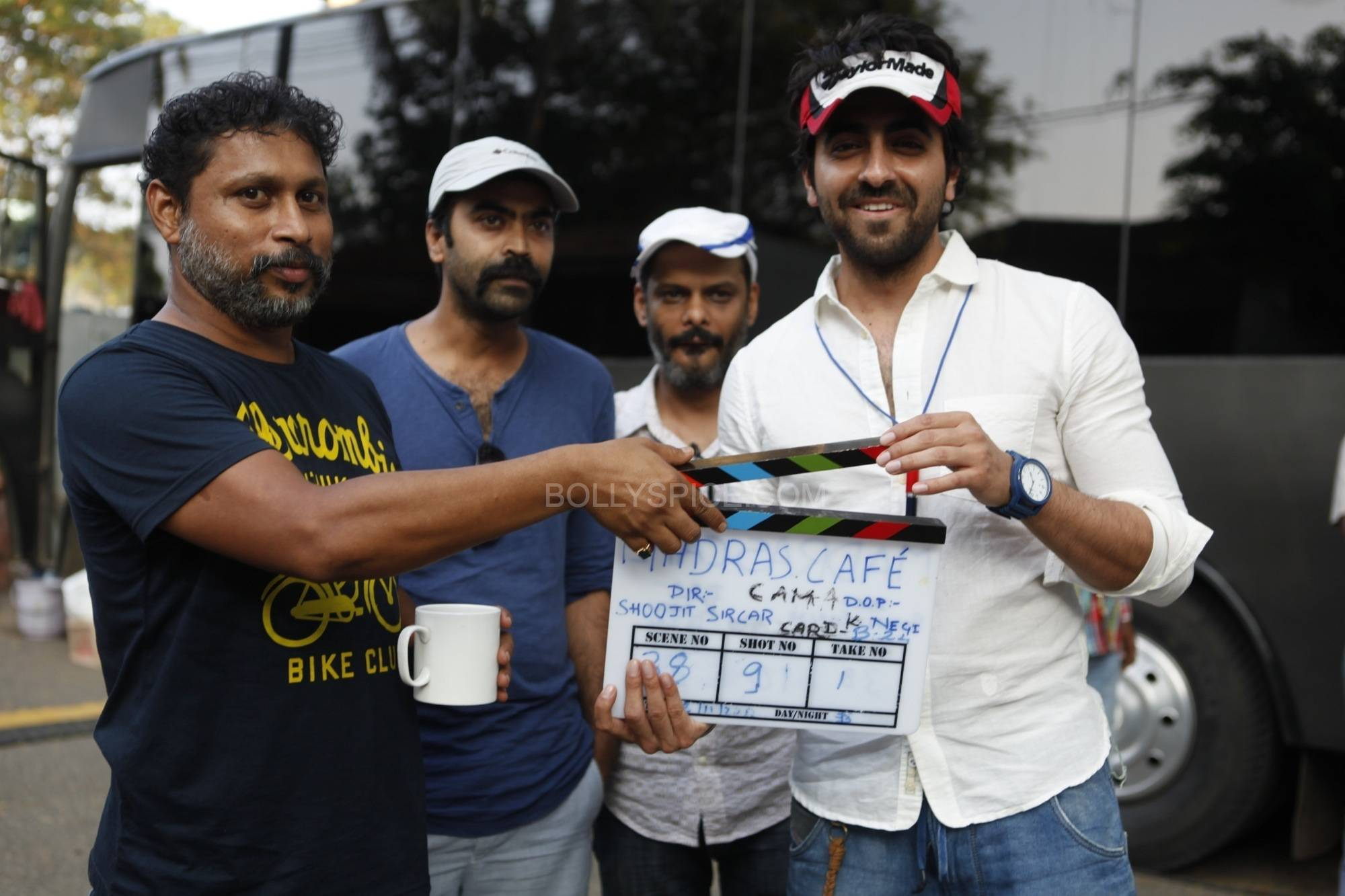 ayushmaanmadrascafe Ayushmann Khurrana turns AD for Madras Cafe