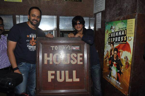 chennaiexpresshouseful Box Office: Shah Rukh Khan, Rohit, Deepika, UTV create records as Chennai Express hits century