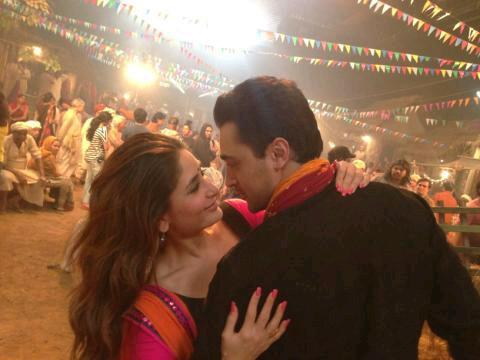 imran kareena gtpm In Pictures: Imran, Kareena and Punits Fun Item Song  Gori Tere Pyaar Mein