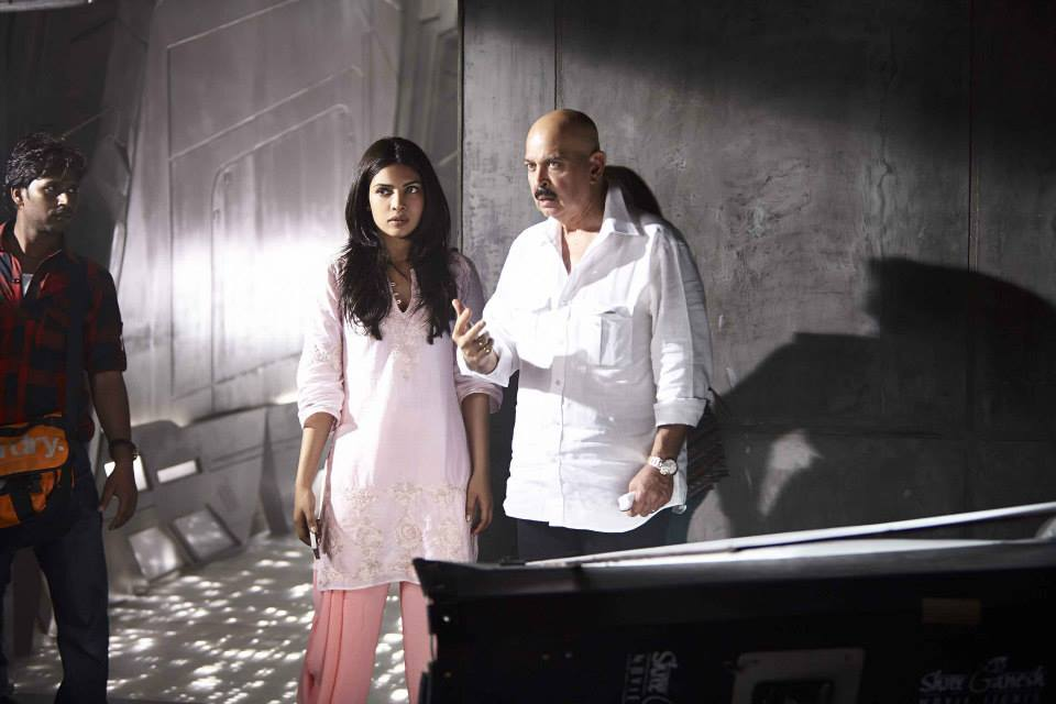krrish3onset priyanka In Pictures: On Set of Krrish 3!