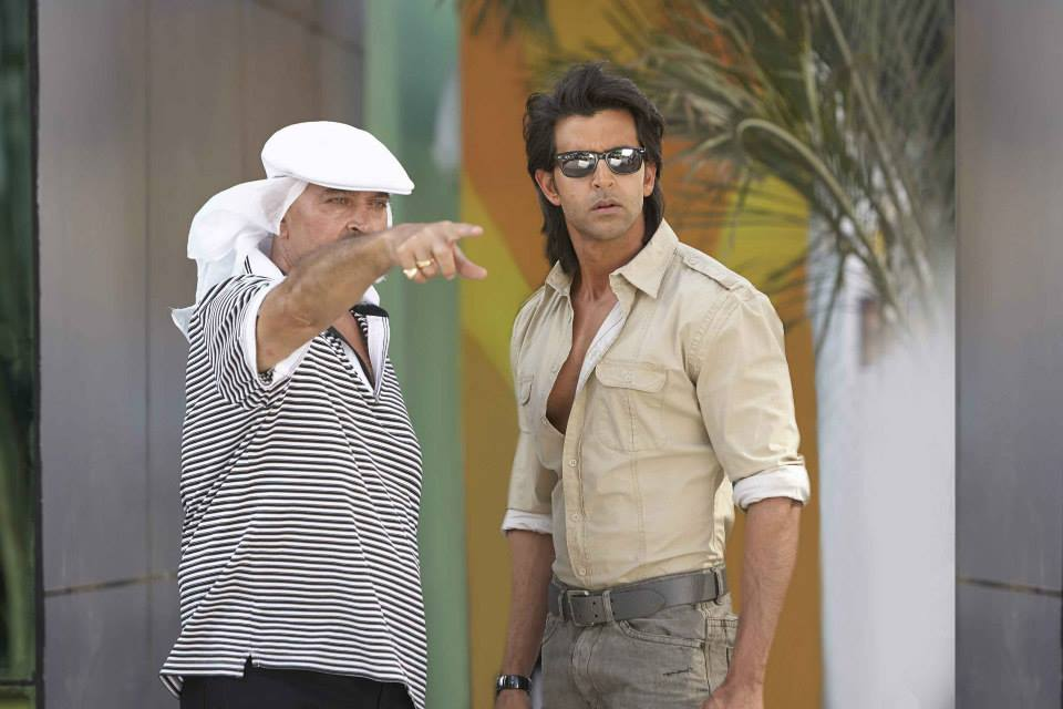 krrish3onst hrithik02 In Pictures: On Set of Krrish 3!