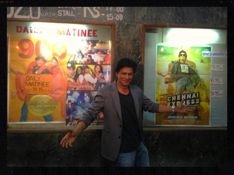 marathamandir Shah Rukh Khan Relives the journey from Raj to Rahul   DDLJ to Chennai Express