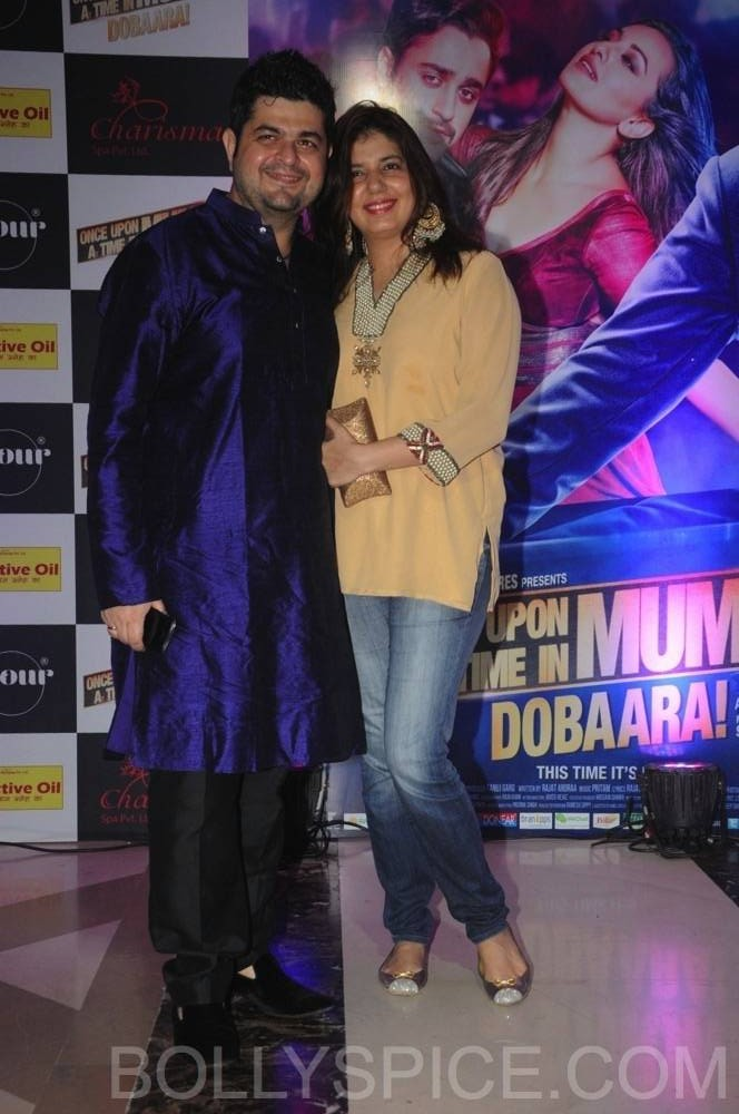 ouatimdiftaarparty09 e1376089763333 IN PICTURES: Celebs at the Once Upon A Time in Mumbai Dobaara Iftaar Party