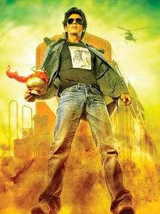 srkchennaiexpress 225x300 Shah Rukh Khan Happy with Amazing Opening of Chennai Express