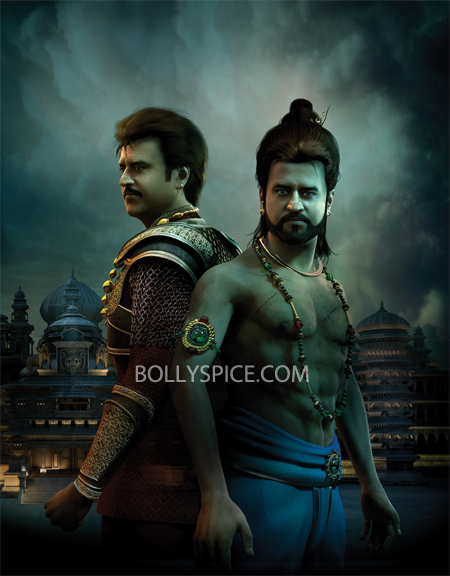 13apr Kochadaiiyaan Rajinikanth in Kochadaiiyaan The Legend teaser and more!