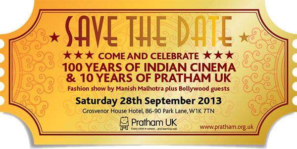13sep 100yrsPratham Bipasha Basu and Esha Gupta to walk the ramp for 100 years of Indian Cinema in London in aid of Pratham