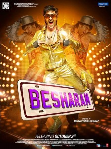 13sep Besharam Poster 225x300 Besharam Music Review