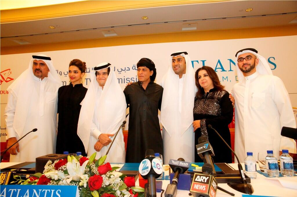 13sep HNYcast DubaiPressCon49 In Pictures: Happy New Year Press Conference in Dubai!