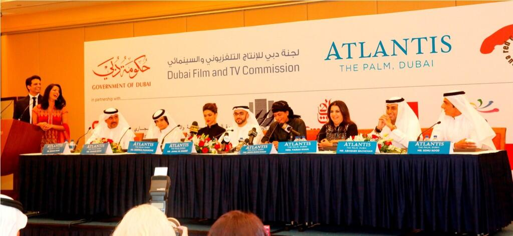 13sep HNYcast DubaiPressCon50 In Pictures: Happy New Year Press Conference in Dubai!
