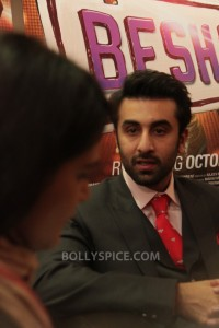 13sep Ranbir Pallavi Besharam01 200x300 BollySpice talks to Ranbir Kapoor and Pallavi Sharda in an exclusive in London!