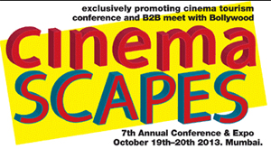 13sep cinemascapes Cinemascapes 2013   A pioneering event to promote Cinema Tourism
