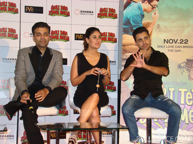 13sep gtpmlaunch 08 Special Report: Gori Tere Pyaar Mein trailer launch