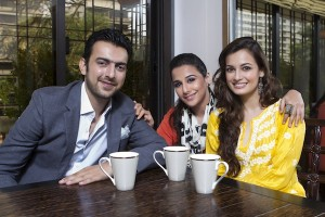 Sahil SanghaVidya Balan and Dia Mirza 300x200 Born Free signs Vidya Balan to play a detective for BOBBY JASOOS