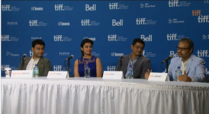 TIFF SDR presscon03 300x164 TIFF Special Report: Shuddh Desi Romance Press Conference