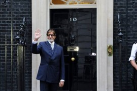 Amitabh Bachchan honoured with 2013 Global Diversity Award in London