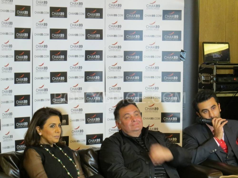 besharampressconference2 'Besharam is an attitude. It's listening to your heart and actually following your heart'  Ranbir Kapoor at UK Besharam Press Conference
