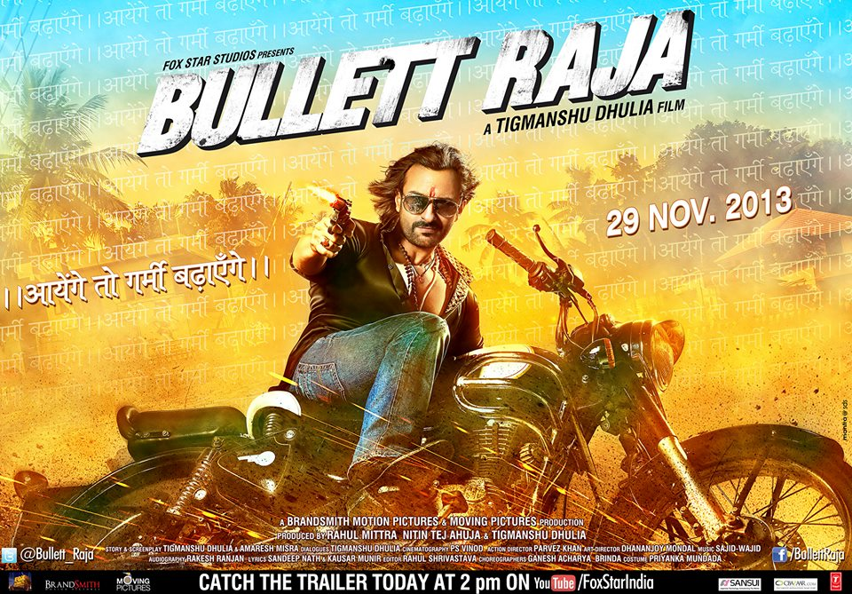 bullettrajaposter02 Bullett Raja Trailer and Synopsis!