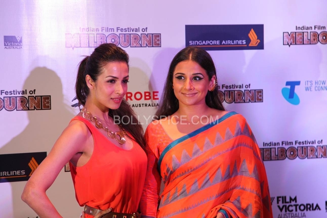 vidyabalanatiffm10 Brand Ambassador Vidya Balan at the Indian Film Festival of Melburne Conference (IFFM)
