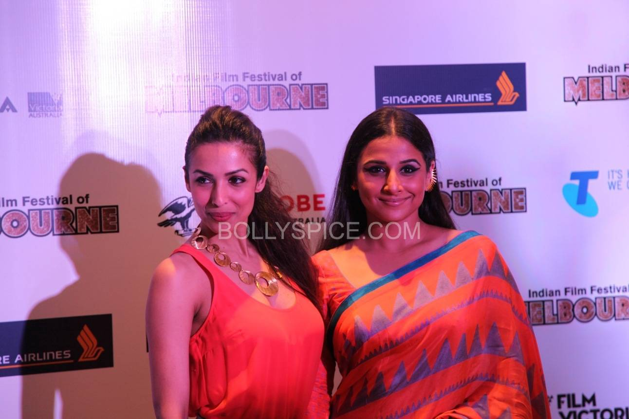 vidyabalanatiffm11 Brand Ambassador Vidya Balan at the Indian Film Festival of Melburne Conference (IFFM)