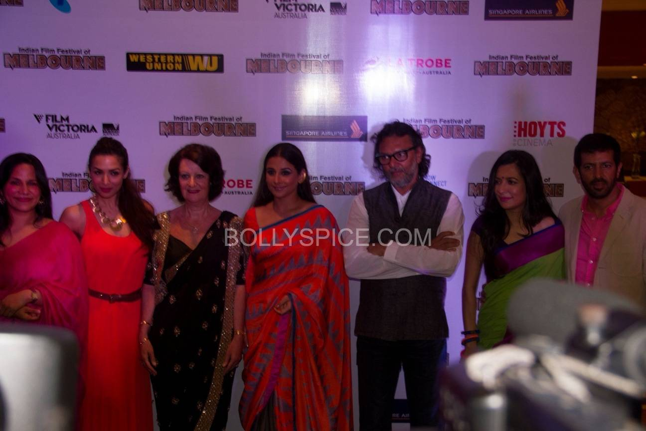 vidyabalanatiffm12 Brand Ambassador Vidya Balan at the Indian Film Festival of Melburne Conference (IFFM)