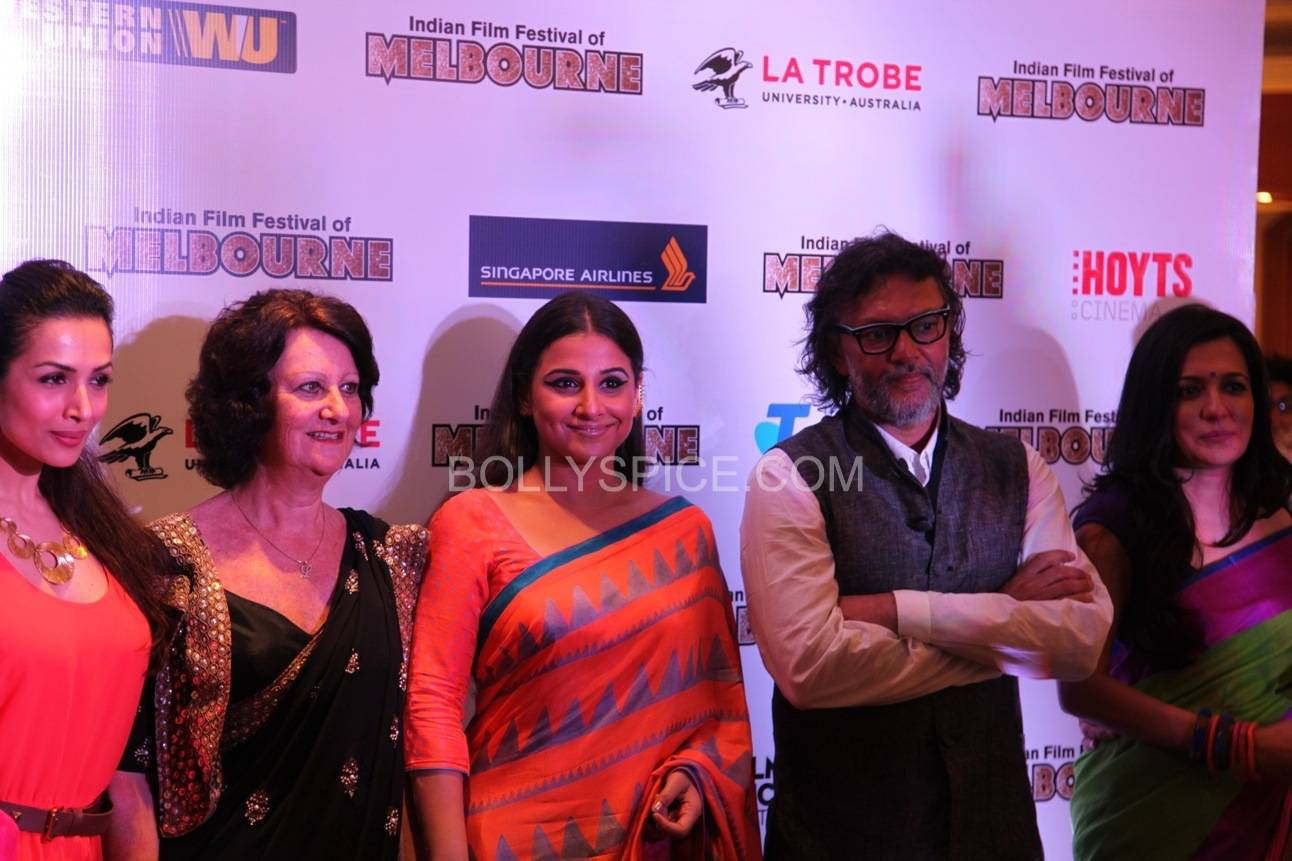 vidyabalanatiffm7 Brand Ambassador Vidya Balan at the Indian Film Festival of Melburne Conference (IFFM)
